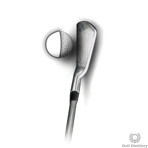 Focus on the front of the ball swing thought