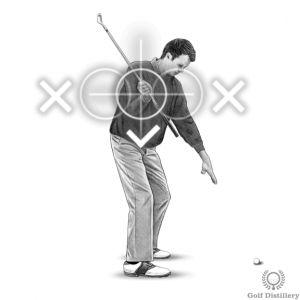 Proper club position backswing drill