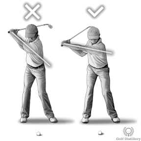 Slow and short swing thought