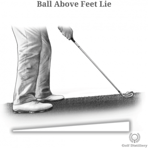Ball Above Feet Lie