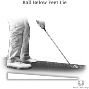 Ball Below Feet Lie