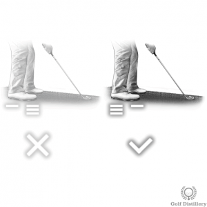 Get into a stable position when the ball is below your feet
