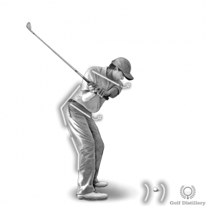 Downswing (behind view)