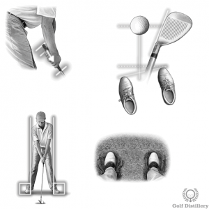 Other setup elements of a wet bunker shot