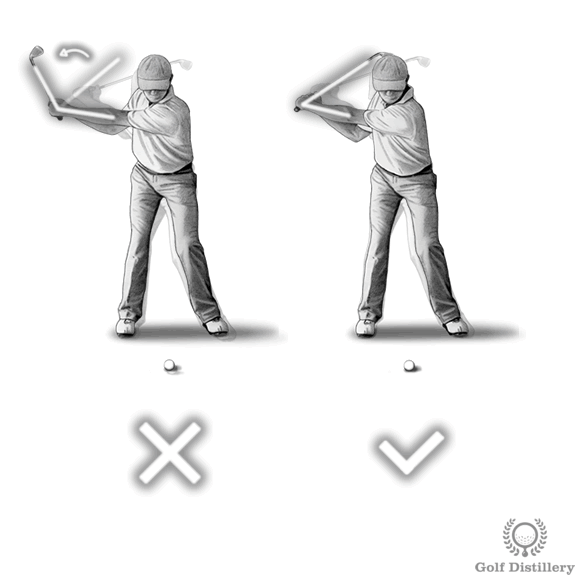 Casting the club swing error