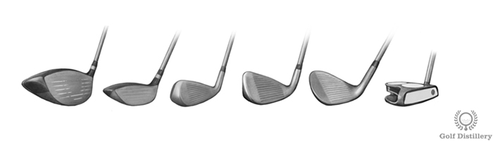 Types of golf clubs