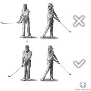 Fix a decel swing by adopting a shorter backswing