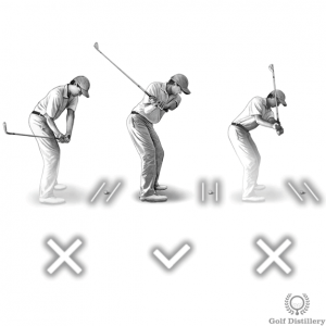 Club path during the downswing should promote inside-square-inside
