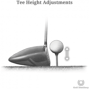 Tee height adjustments
