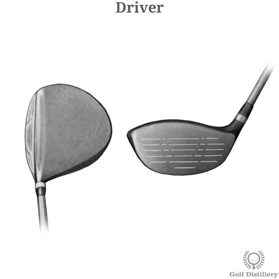 Driver golf club