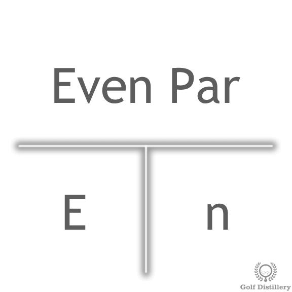 even-par