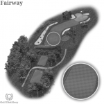The golf term fairway is located on a golf hole
