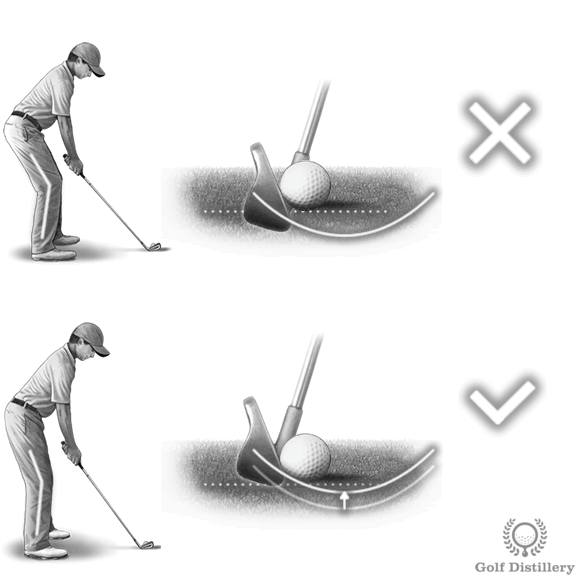 Fat Shots - How to Fix & Stop Hitting Golf Balls Fat | Golf
