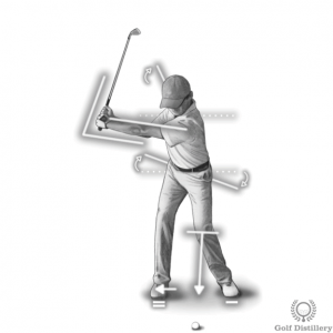 Backswing (front view)