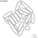 Garden course layout