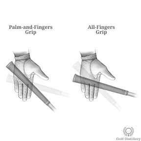 Palm-and-Fingers Grip vs All-Fingers Grip