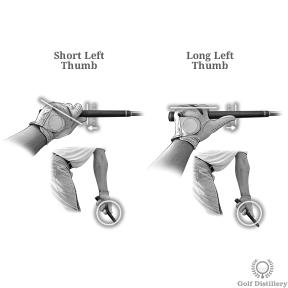 Short Left Thumb vs Long Left Thumb
