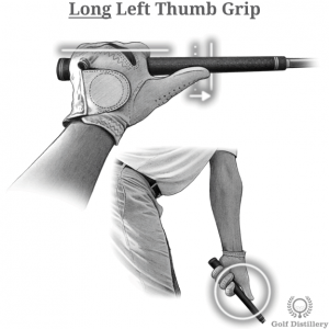 Long Left Thumb Grip