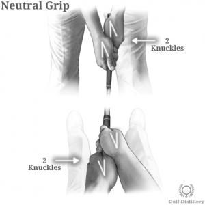 Neutral grip strength in golf