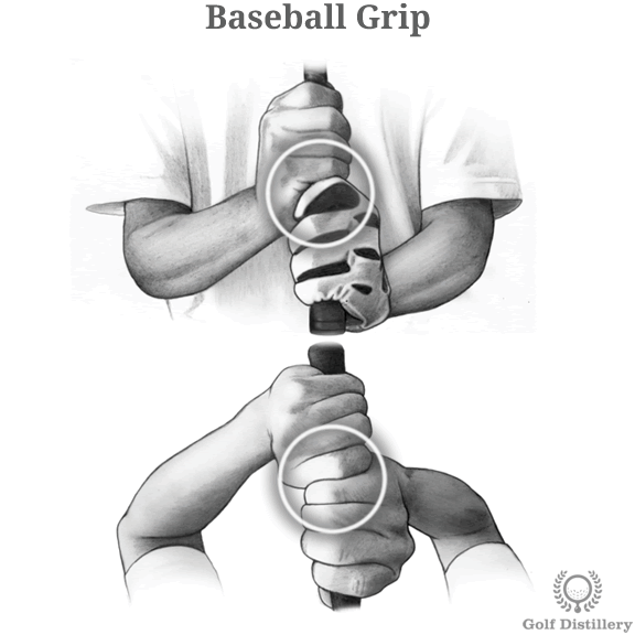 ベースボールグリップ