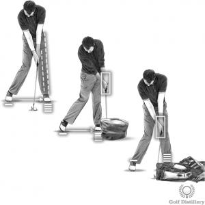 Golf impact drills