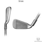 Iron golf club