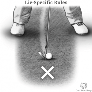 Rules that can impact a golfer's lie