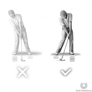 Your weight should move towards your front foot as you head into impact with the ball