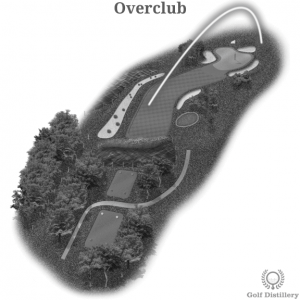 Overclub golf shot error