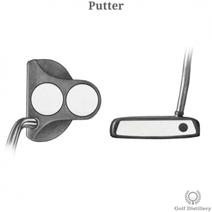 Putter golf club