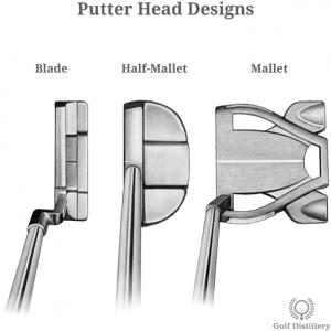 Putter Head Designs: Blade, Half-Mallet, Mallet