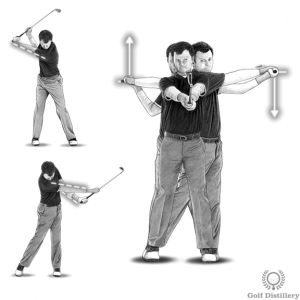 Golf release and extension drills