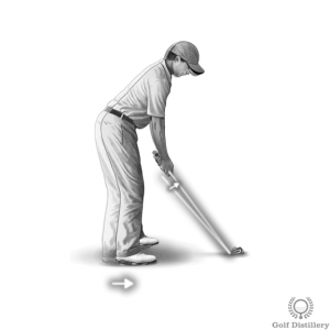 Stand a little closer to the ball when hitting from heavy rough