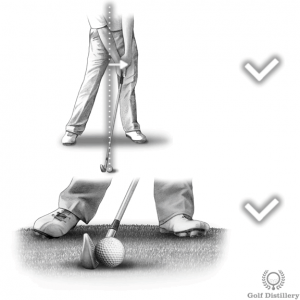 Keep hands in front of the club at impact to fix scooping the ball