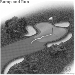 Bump and Run in Golf