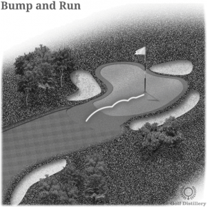 Bump and Run in Golf