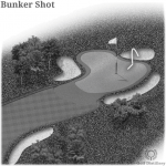 Bunker Shot in Golf
