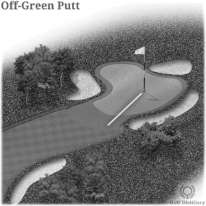 Off-Green Putt in Golf