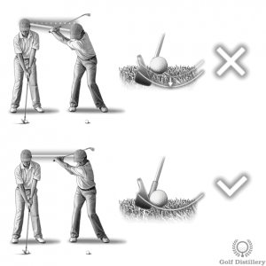 Failing to maintain the forward spine angle constant can lead to skying the ball