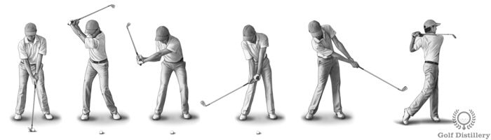 Swing terms in golf