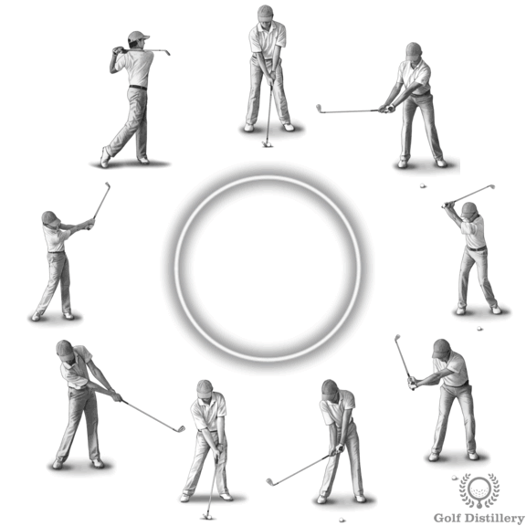 Tempo Tempo Tempo Illustrated Golf Swing Thought Swing