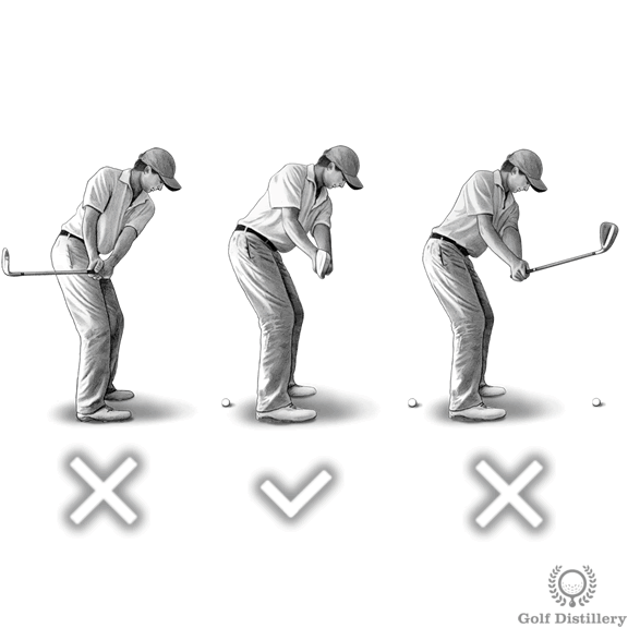 Shaft should point at the target during the takeaway