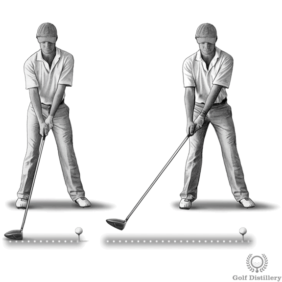 Low And Slow Illustrated Golf Swing Thought Swing Key