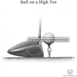 Ball on a High Tee