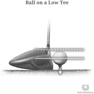 Ball on a Low Tee Tweak