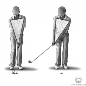 Move back as a block - Top 5 swing thought for wedges
