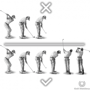 Hit through the ball; not at the ball - Top 5 swing thought for wedges
