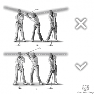 Keep your head level - Top 5 swing thought for wedges