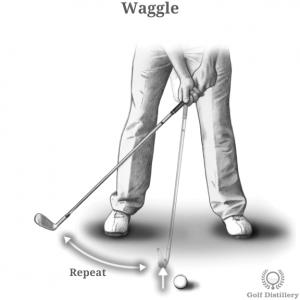 Golf Club Waggle